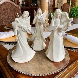 Mikasa Holy Night Nativity Angel Figurines